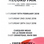 East Grinstead Record Fair at Chequer Mead, East Grinstead
