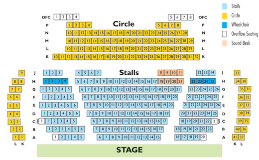 Chequer Mead's Main HouseSeating Plan