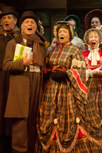 """Scrooge, the Musical"" at Chequer Mead, East Grinstead"