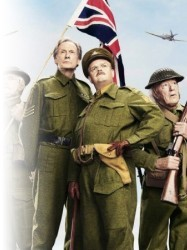 Dads Army at Chequer Mead, East Grinstead