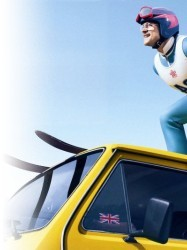 Eddie the Eagle at Chequer Mead, East Grinstead