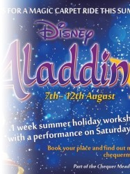 Disneys Aladdin Jr at Chequer Mead, East Grinstead