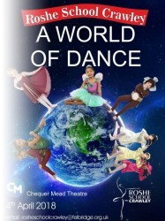 A World of Dance at Chequer Mead, East Grinstead