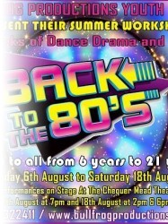 Back to the 80s at Chequer Mead, East Grinstead