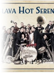 Bratislava Hot Serenaders, with the Serenader Sisters at Chequer Mead, East Grinstead