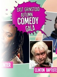 East Grinstead Autumn Comedy Gala at Chequer Mead, East Grinstead