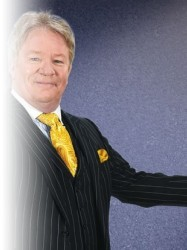 Jim Davidson; On The Road Again Tour at Chequer Mead, East Grinstead