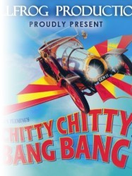 Chitty Chitty Bang Bang at Chequer Mead, East Grinstead