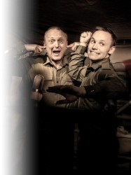 Dads Army Radio Show at Chequer Mead, East Grinstead