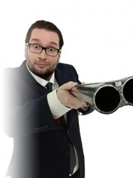 Gary Delaney - Gagsters Paradise at Chequer Mead, East Grinstead