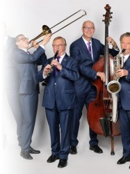 The Dutch Swing College Band at Chequer Mead, East Grinstead