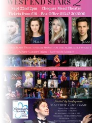 West End Stars 2 at Chequer Mead, East Grinstead