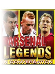 Arsenal Legends in Conversation at Chequer Mead, East Grinstead