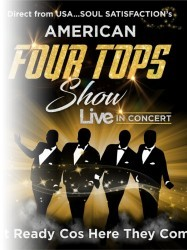 The American Four Tops at Chequer Mead, East Grinstead