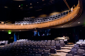 The main house auditorium at Chequer Mead, East Grinstead